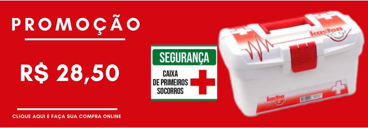 PROMOÇÃO - CX PRIMEIROS SOCORROS