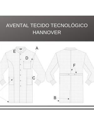 Avantal Tecido Tecnológico Hannover