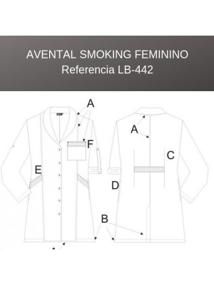 Avental Smoking Feminino