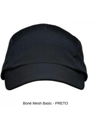 Boné Mesh Básico Preto